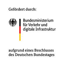 Gefördert durch: Bundesministerium für Verkehr und digitale Infrastruktur (BMVI)